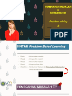 Ppt Problem Solving, Metakognisi