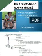 DUCHENNE MUSCULAR DISTROPHY (DMD) pak Is.pptx