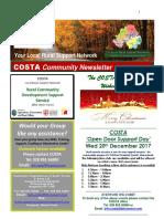 COSTA Newsletter - Dec 2017