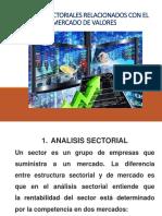 Analisis Sectoriales Mercado de Valores