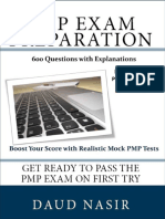 PMP Exam Preparation. 600 Questions With Explanations, 2nd Ed._[Daud Nasir]