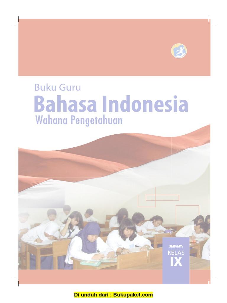 Bahasa Indonesia Kurikulum 2013 Kelas 9 Ilmusosial Id
