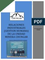 Gestion Humana-unidad Minera Chungar