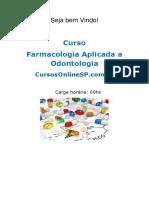 Sp Curso Farmacologia Aplicada a Odontologia 89961