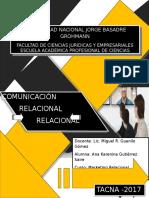 Comunicación relacional