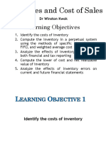 Lect 6 Inventories & Cost of Sales