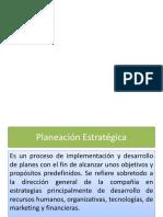 Clasificacion de La Planeacion