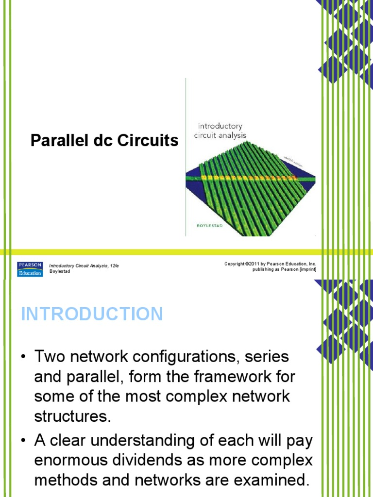 Lecture 1-3 -- Parallel DC circuits pdf | Series And