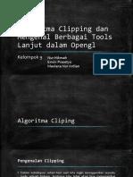 Algoritma Clipping Dan Mengenal Berbagai Tools Lanjut Dalam