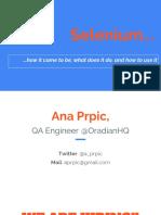Codeigniter Testing Guide Sample | Selenium (Software) | Hypertext