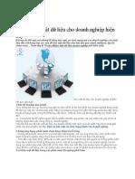 Vấn đề bảo mật dữ liệu cho doanh nghiệp hiện nay.docx