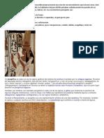 La pintura egipcia es muy fácilmente reconocible porque presenta una serie de convencionalismos que la hacen única.docx