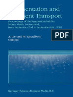 Sedimentation and Sediment Transport