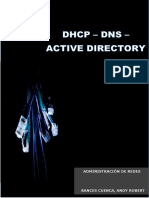 Dhcp DNS Activedirectory