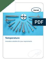Temperature metering