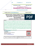 PREPARATION, CHARACTERIZATION AND IN-VITRO EVALUATION OF PROBENECID