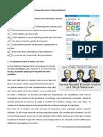 Teste Frances Interpretação Texto Tecnologia Sem Correção