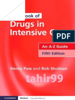 Handbook of Drugs in Intensive Care- An a-Z Guide (5th, 2013)