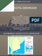 PL 3111 Perencanaan Kota (RTRW Kota Denpasar)