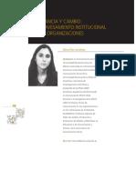 Dc3adaz Larrac3b1aga Invariancia y Cambio El Atravesamiento Institucional de Las Organizaciones