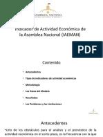 Indicador de Actividad Económica de la Asamblea Nacional (IAEMAN)
