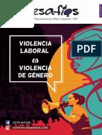 Revista DESAFIOS N°8 Violencia Laboral es violencia género
