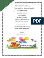 Plan de Biblioteca 2017-2018 2