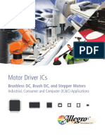 Motor Driver ICs for Industrial Consumer and Computer Applications