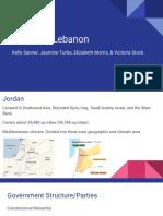 jordan   lebanon