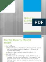 HSS2121 Week 11 Guest Lecture - Mental Illness Final