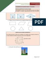 Ejercicios de Simetrías en Figuras Planas y Poliedros