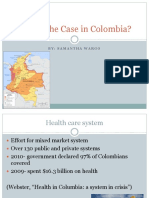 health care in columbia