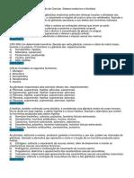 Revisão de Ciencias Sistema Endócrino e Sentidos