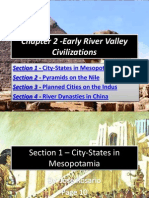 Chapter 2 -Early River Valley Civilizations