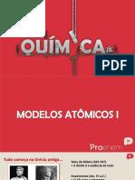 Atomistica Modelos Atomicos
