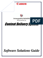 Canon CDS Software Solutions Guide