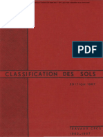Classification des Sols 1967