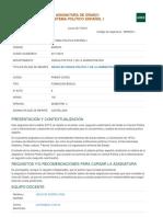 Guía Sistema Político Español I_ Uned 2017