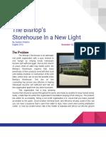 final bishops storehouse proposal