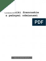 Lipska a. - Czasowniki Francuskie z Pełnymi Odmianami