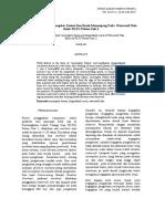 Analisis Cacat Las Incomplete Fusion Dan Retak Memanjang Pada Waterwall Tube Boiler PLTU Paiton Unit 1
