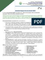 M - 166 Environmental Impact Assessment (EIA)
