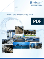 Water Industry - IndiaNivesh