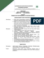 8.4.4.1 Sk Kebijakan Penggelolaan Rekam Medis Yang Didalamnya Terdapat Ketentuan Tentang Rekam Medis
