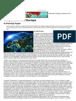 Pierluigi Fagan_ Geopolitica Dell'Europa