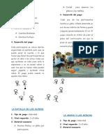 juegos educación  física inicial