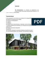 Arquitectura Internacional y Organica