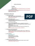 Agenda and Deadlines
