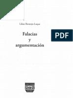 Bermejo Luque, Lilian (2014) - Falacias y Argumentación