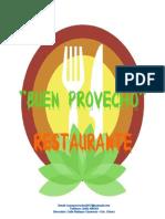 Informe de idea de negocio de un restaurant